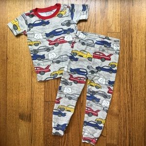 The Children's Place Short Sleeve Car Pajamas
